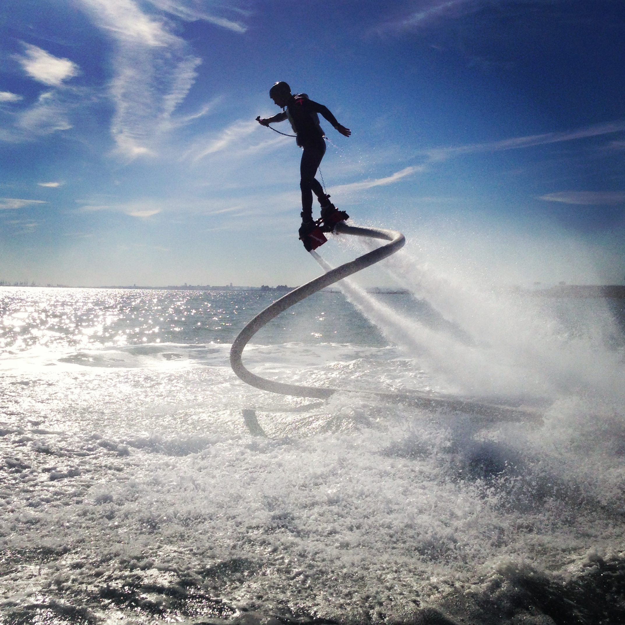 Zapata Racing's Flyboard in action