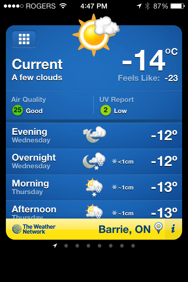 Weather Network App
