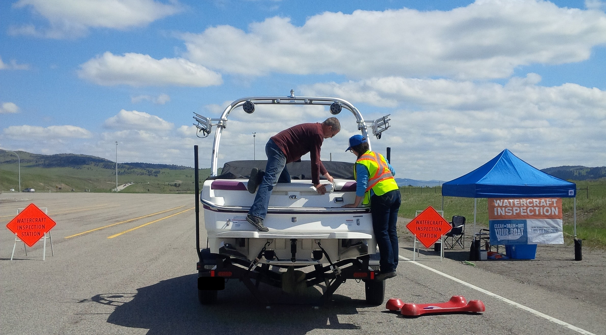 Image from: Alberta Environment and Sustainable Resource Development; Alberta Inspection Station
