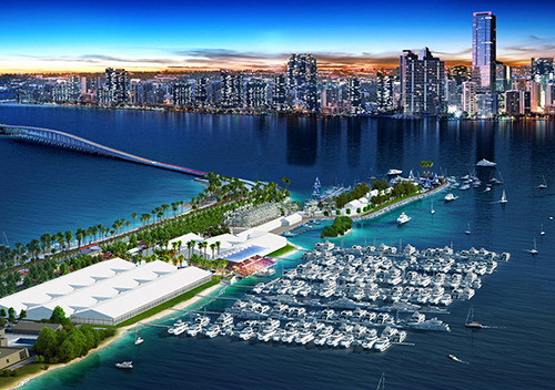 Rendering of the Miami Boat Show
