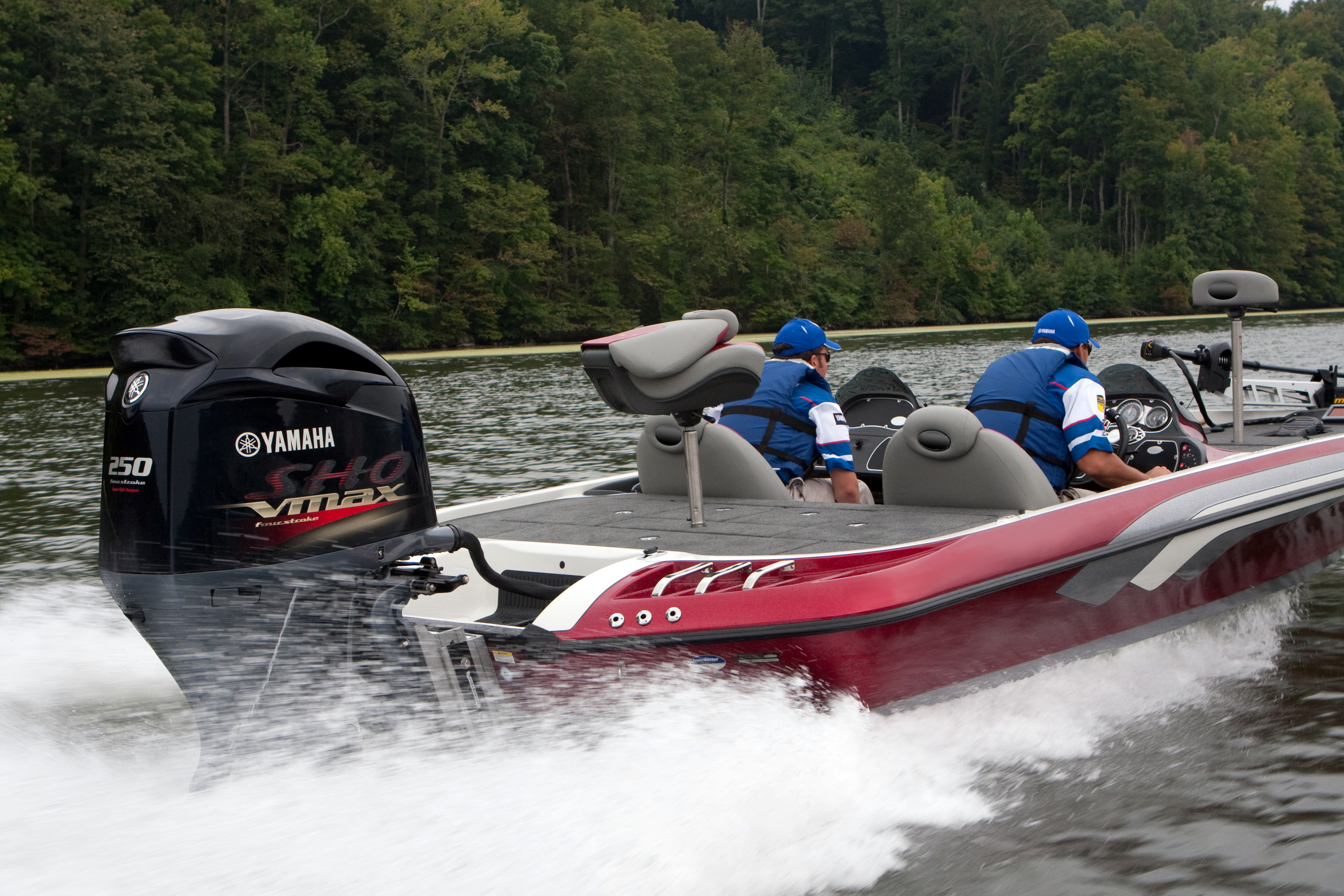 Powerlines cleaning up our act boats and places magazine for Yamaha 250 boat motor