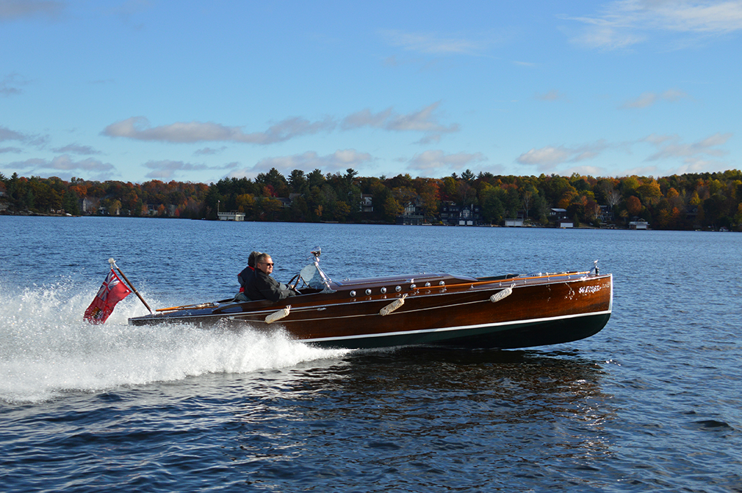 Wooden boat builders thrive in muskoka boats and places