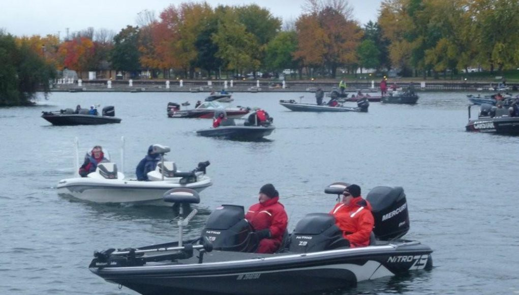 Bass pro shops lake simcoe open boats and places magazine for Lake simcoe fishing