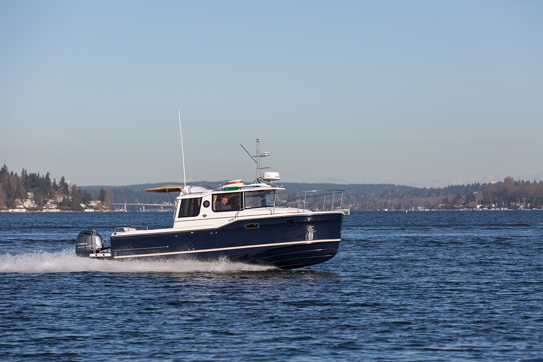 Compact Cruisers and Tiny Trawlers | Boats and Places Magazine