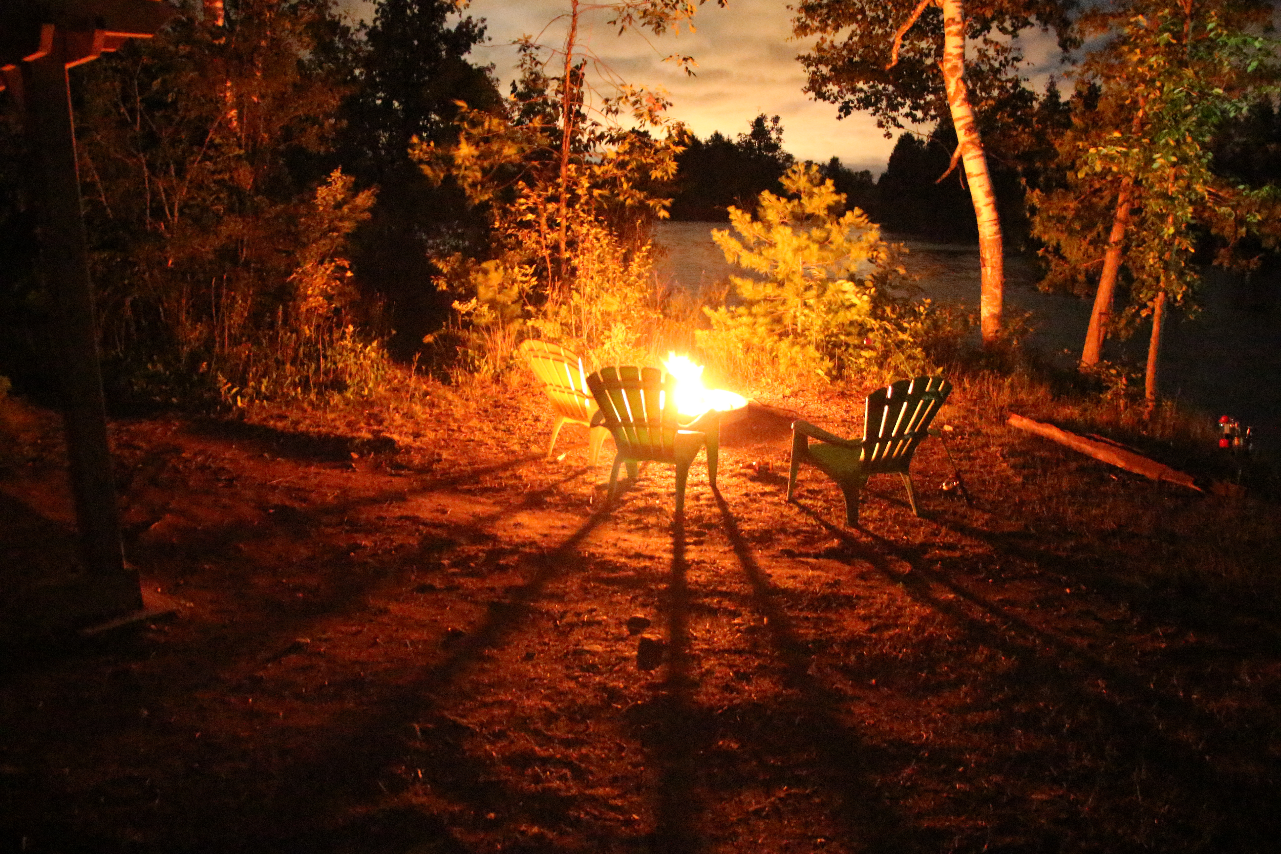 Every OTENTik Site Comes With A Fire Pit Chairs BBQ And Picnic - Fire picnic table
