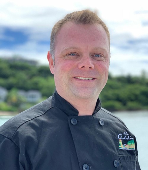 Chef Danny Davies of M/Y Excellence