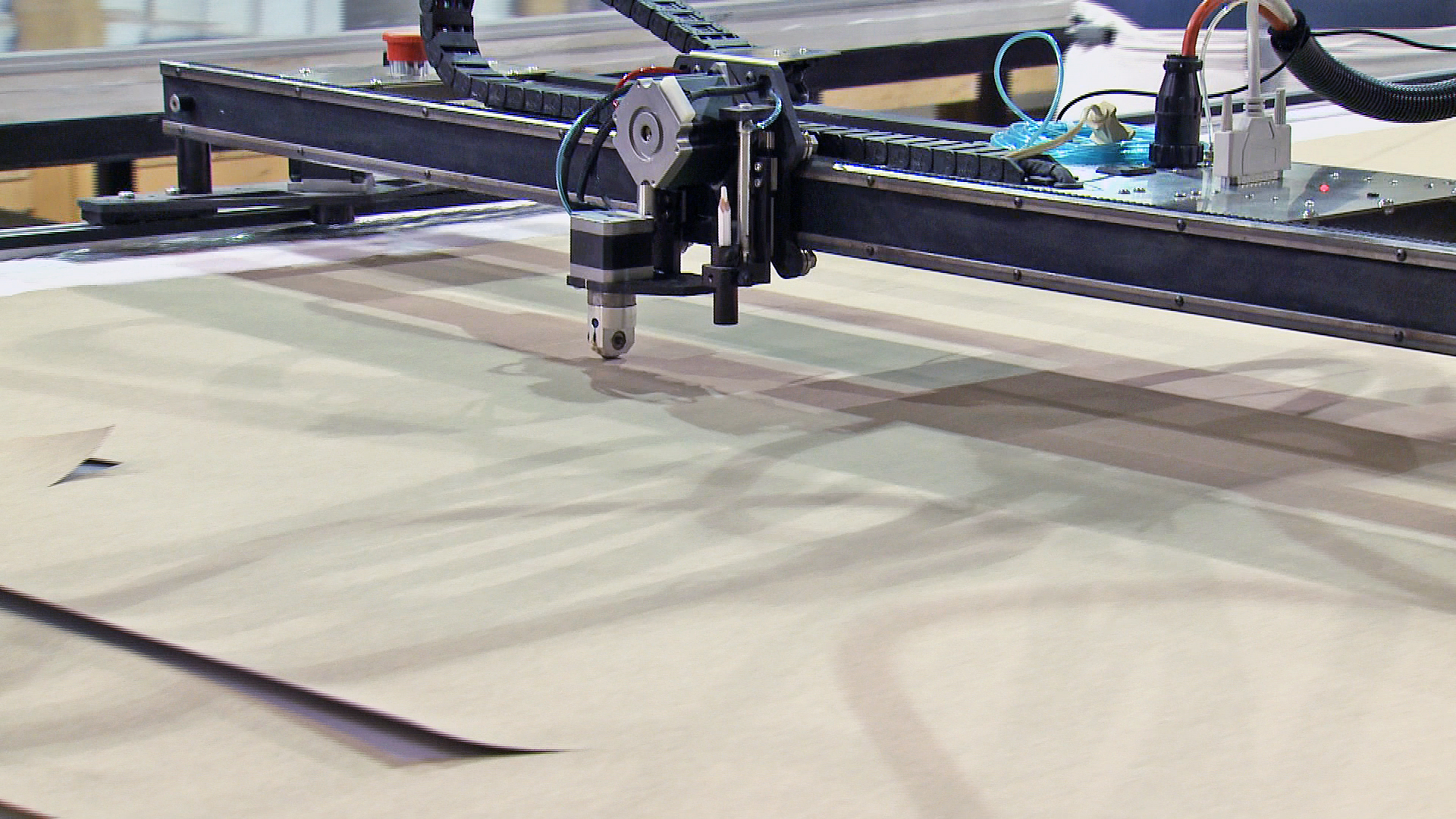 CAD cutting table